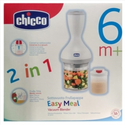Chicco Sottovuoto Frullapappa Easy Meal Vacuum Blender