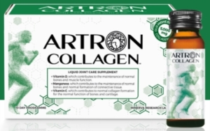 Minerva Research Labs Artron Gold Collagen Forte Integratore 10 Flaconcini