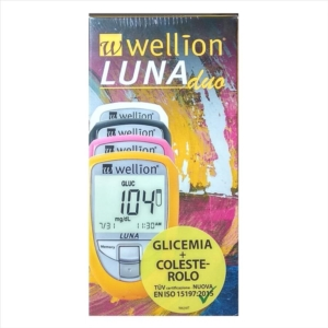 Med Trust Italia Wellion Luna Duo Kit Bianco