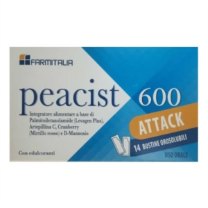Farmitalia Peacist 600 Attack 14 Bustine