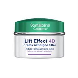 Somatoline Cosmetic Linea Lift Effect 4D Crema Antirughe Filler Viso 50 ml