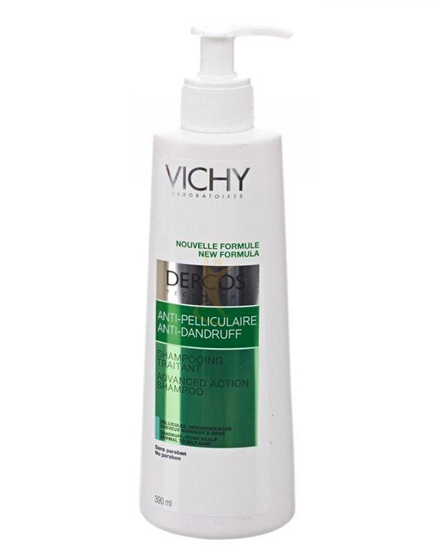 Dercos Linea Equilibrante Shampoo Anti-Forfora Trattante Capelli Grassi 400 ml