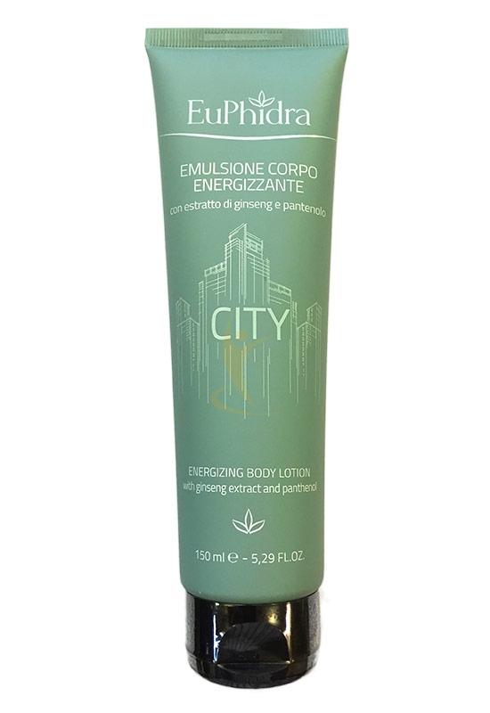 EuPhidra Linea Essenze dal Mondo City Emulsione Energizzante Corpo 150ml