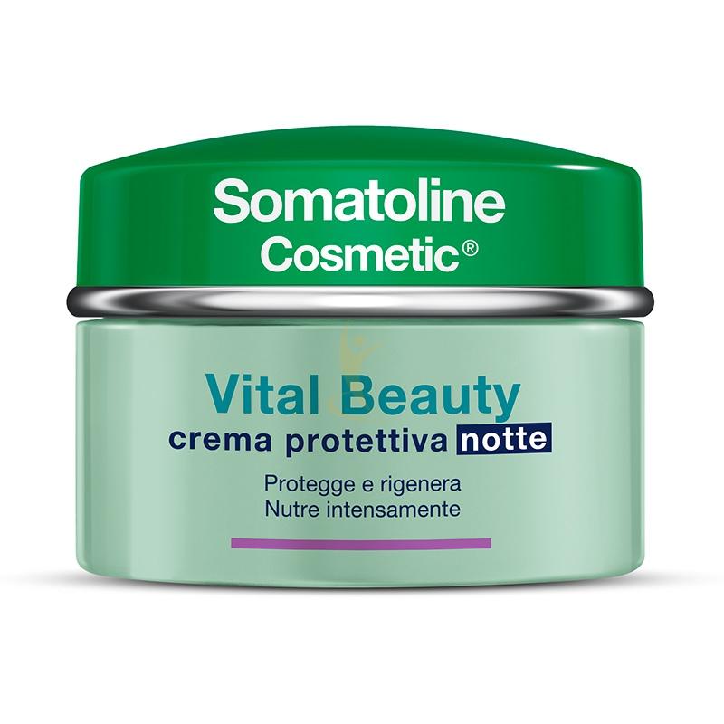 Somatoline Cosmetic Linea Vital Beauty Crema Notte Rigenerante Illuminante 50 ml